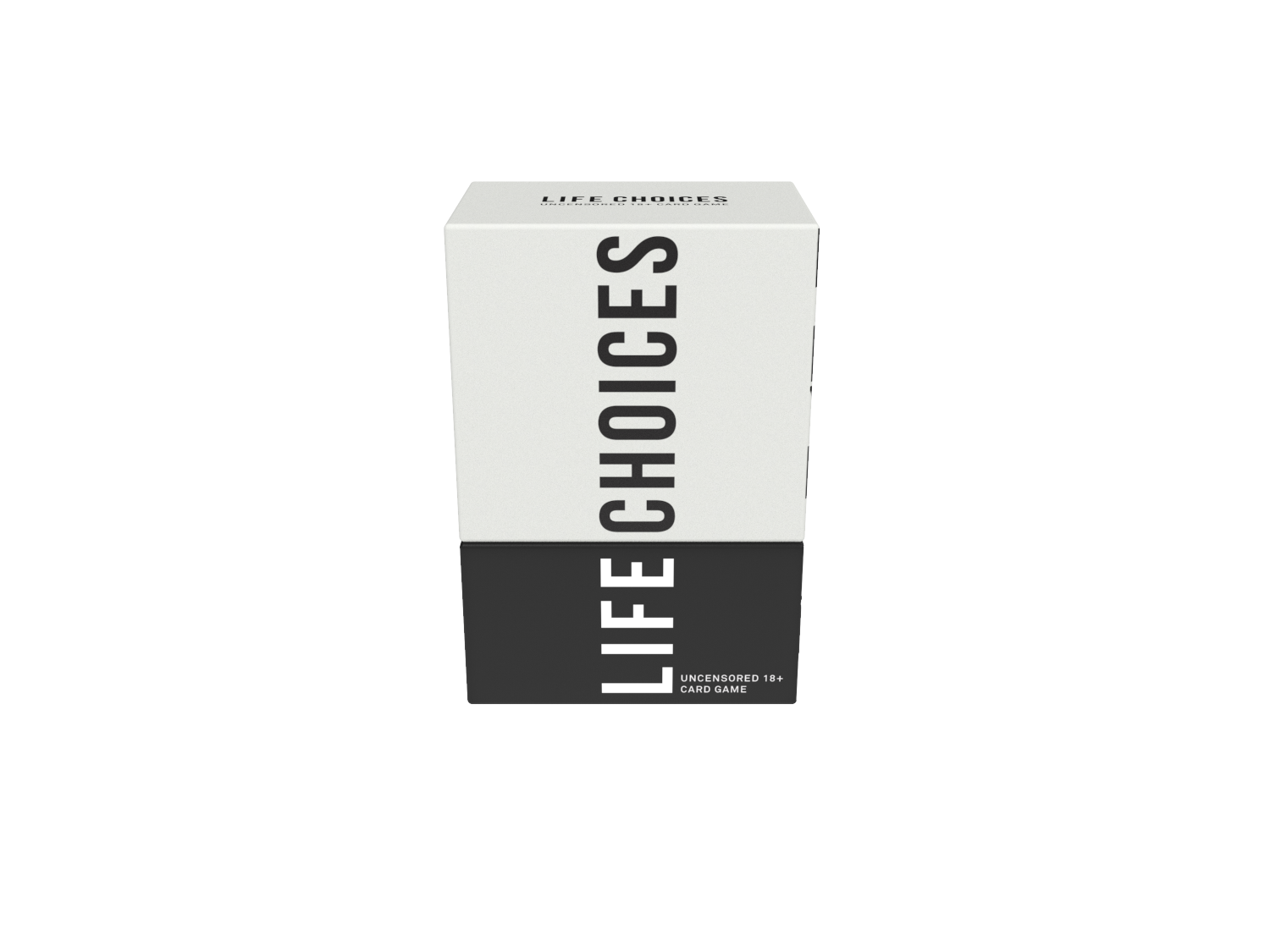 Life Choices Card Game Packaging La Fin Design